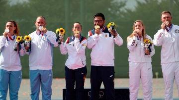 Fátima Gálvez y Alberto Fernández logran la primera medalla de oro para España en los Juegos Olímpicos de Tokio
