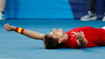 Pablo Carreño, medalla de bronce en los JJOO de Tokio 2020 tras derrotar a Novak Djokovic