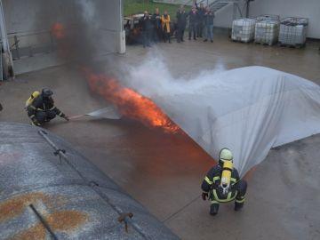 Manta anti incendios