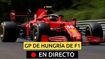 Carlos Sainz, en el GP de Hungría
