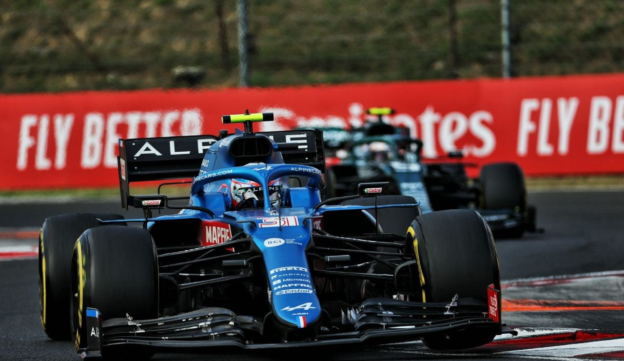 Esteban Ocon logra su primera victoria en F1