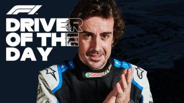 Fernando Alonso, piloto del día en Hungría