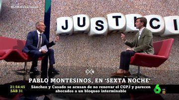 Hilario Pino y Pablo Montesinos en laSexta Noche