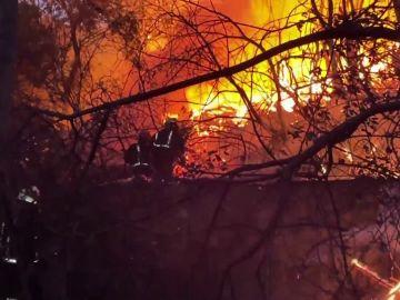 Incendio en San Martín de Valdeiglesias, Madrid