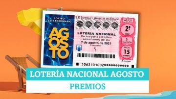 ¿Qué premios reparte el Sorteo Extraordinario de Lotería Nacional de Agosto?