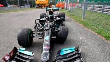 El Mercedes de Valtteri Bottas