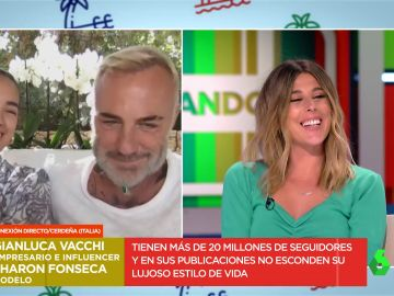 La confesión de Valeria Ros a Gianluca Vacchi y Sharon Fonseca