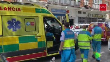 Herida muy grave una bebé tras caer desde la ventana de un segundo piso en Madrid