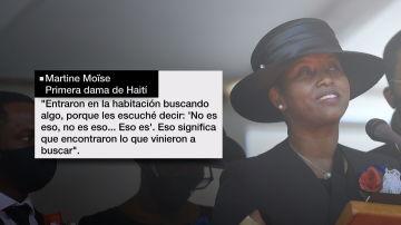 Martine Moïse, primera dama de Haití