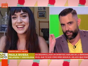 Así es tu personalidad según el sabor de helado que pidas: el divertido análisis viral de la heladera Paula Rivera