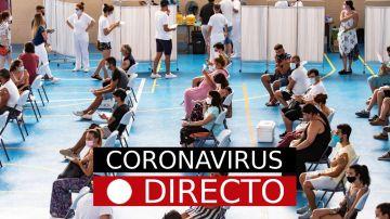 Última hora de coronavirus: Vacuna, certificado COVID y variante Delta en España, hoy