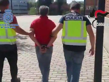 La Policía detiene en Madrid al máximo responsable de la mafia calabresa