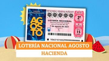 Esta es la parte que se queda Hacienda de la Lotería Nacional de Agosto