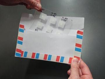 Logran enviar muestras de esperma congelado por carta