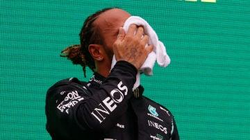 Lewis Hamilton, en Hungría