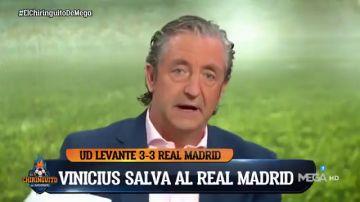 """El elogio de Pedrerol a Ancelotti: """"Vinicius, Bale, Isco... ha recuperado a jugadores que parecía imposible"""""""