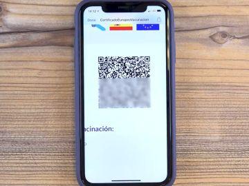 Ya puedes verificar que tu certificado COVID es válido y funciona correctamente desde tu móvil