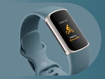 La pulsera Fitbit Charge 5 ya es oficial, pantalla a color y 7 días de autonomía