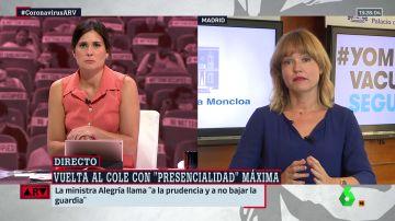 La ministra de Educación, Pilar Alegría