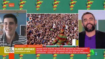 """Rubén Jiménez, cipotegato 2019: """"Me sentí el rey del mundo, es una pasada"""""""