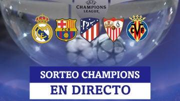 Sorteo de la fase de grupos de la Champions League, en directo