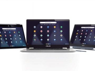 Chromebook, unos dispositivos versátiles y elegantes