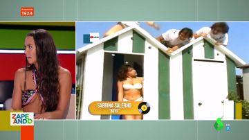 """El sensual look de Cristina Pedroche en Zapeando: """"Hoy voy al ras"""""""