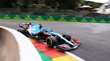 Fernando Alonso, en Spa