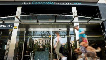 El hotel donde fue hallado el niño presuntamente asesinado por su padre en Barcelona