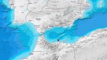 Terremoto de 4,9 grados en el mar de Alborán