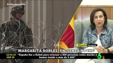 """Margarita Robles, emocionada: """"102 militares españoles murieron en Afganistán y su sacrificio no puede ser en vano"""""""