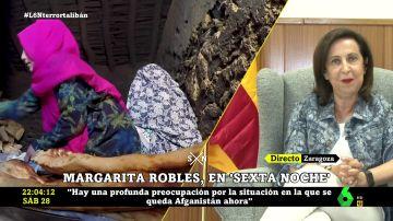 """Margarita Robles: """"Occidente tiene una deuda pendiente con el pueblo afgano y no puede mirar hacia otro lado"""""""