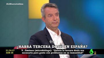 """Cesar Carballo, contundente: """"No hay datos que avalen el uso de la tercera dosis contra el coronavirus"""""""