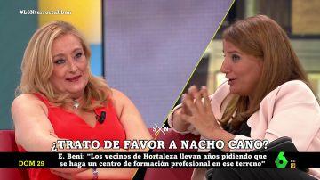 """Tenso debate entre Elisa Beni y María Claver: """"¿Podemos hablar los demás?"""""""