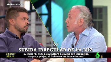 """Eduardo Inda denuncia """"una cortina de humo"""" para ocultar """"el verdadero responsable"""" de la subida de la luz"""