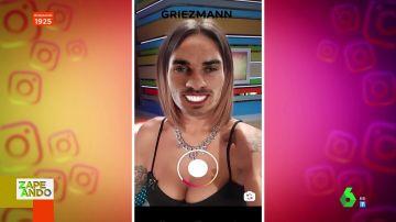 ¿A qué futbolistas se parecen Dani Mateo o Lorena Castell? Los zapeadores prueban el último filtro viral