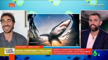 Así logra Rafael Fernández Caballero sus espectaculares fotos submarinas