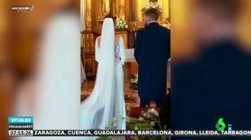 """Un niño interrumpe la boda de sus tíos al grito de """"viva el Betis"""""""