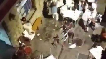 La Ertzaintza detiene a tres personas por desórdenes públicos tras los incidentes de Plentzia