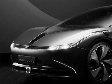 Este sería el aspecto del primer coche eléctrico de Xiaomi