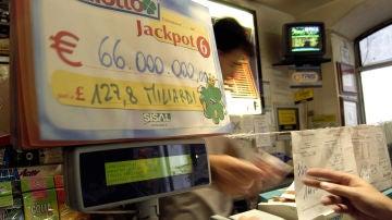 Imagen de archivo de una administración de Lotería en Italia