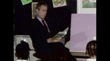 Bush y su caza a Bin Laden tras el 11S con otros líderes como Aznar comprándole el mensaje