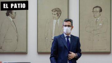 El ministro de la Presidencia, Relaciones con las Cortes y Memoria Democrática, Félix Bolaños