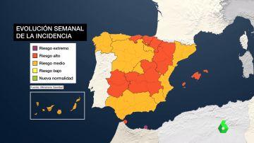 La pandemia se recrudece en España y empiezan las inoculaciones de terceras dosis de la vacuna en algunas comunidades