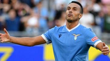 Pedro, con la Lazio