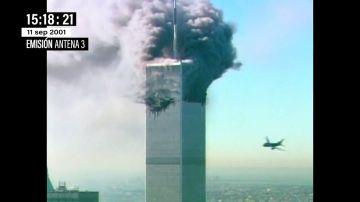 """Así vivió Matías Prats en directo las imágenes del choque del avión contra la segunda Torre Gemela el 11S: """"¡Allá va, dios santo!"""""""
