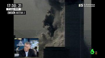 """La reflexión de Jesús Hermida en pleno atentado del 11S: """"Esto es el Apocalipsis, esto es la guerra"""""""