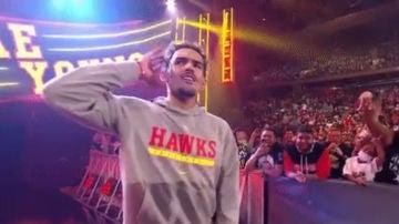 Trae Young, en la WWE
