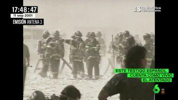 """Así vivió un español el impacto de un avión el 11S desde debajo de una de las Torres Gemelas: """"Pánico es poco"""""""