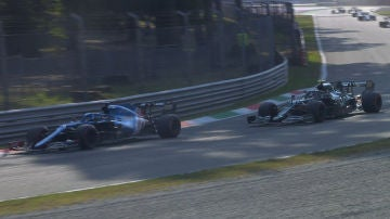Alonso, por delante de Vettel